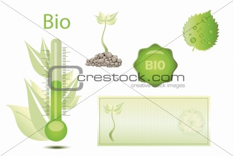 Bio thermometer coupon