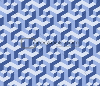 Vector art blue Background. Abstract