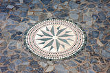 Wind rose mosaic
