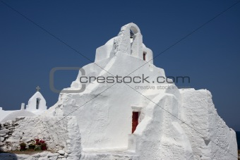 Church of Panagia Paraportiani, Mykonos, Greece