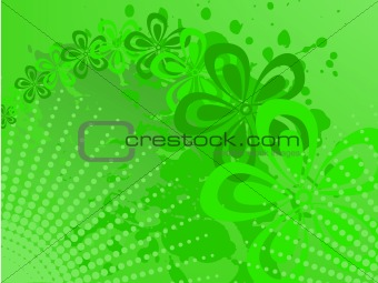 Green halftone