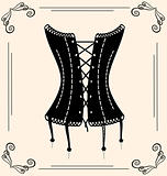 vintage corset