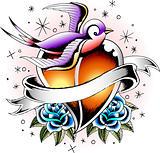 swallow fashion tattoo