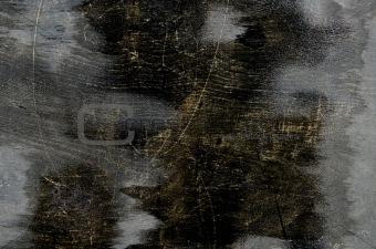 black painted plywood background