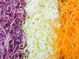 Shredded vegetables