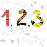 Numbers 1, 2, 3