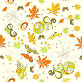 Autumn seamless background