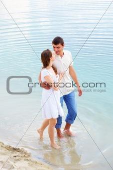 Walk in water