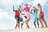 Dancing on sand