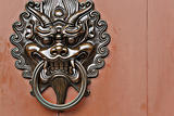 lion door knob