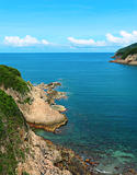 Sai Wan bay in Hong Kong