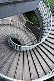 spiraling stair