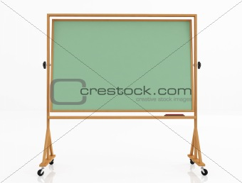 green classic blackboard