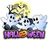 Halloween sign and image 1