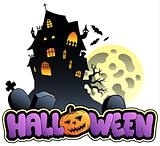 Halloween sign and image 2