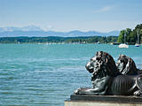 Lions at lake Starnberg