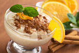 Delicious Rice Pudding with Cinnamon