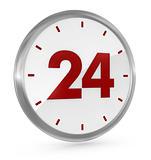 24 h availability
