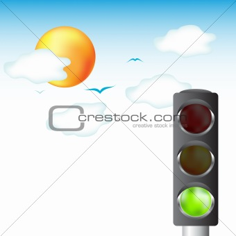 Green light for life