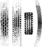 Grunge Tire tracks
