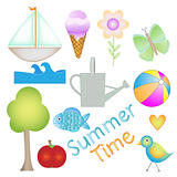 Colorful Summer Time graphics collection