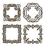 Golden detailed ornamental frame Collection