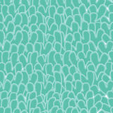 Green abstract seamless pattern