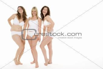 Portrait Of Women In Their Underwear
