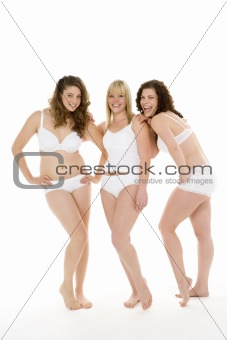 Portrait Of Women In Their Underwear