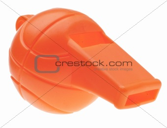 Football Shaped Whistle
