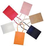 Shopping Bag Sack Set in Circle or Flower Shape