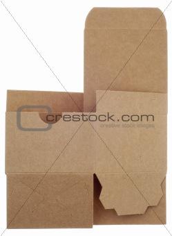 Classic Brown Box Unassembled
