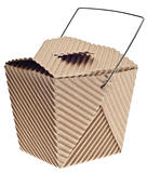 Take Away Container in Cardboard