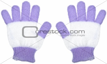 Pair of Bath Gloves