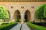 Aljafera Palace, Saragossa, Spain