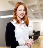 Redhead businesswomen.