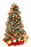 Abstract View Of Christmas Tree