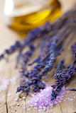herbal salt and lavender