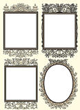 Set of four vintage ornamental frame