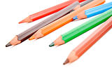 Assorted colored pencils