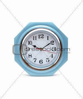 Clock Isolated On White