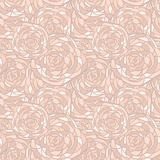vector seamless  background with abstract roses in stained glass