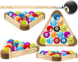 Pool rack (billiards)
