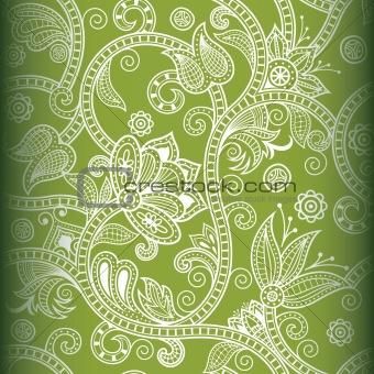 Seamless Floral Pattern 1