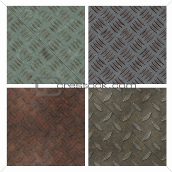 Seamless tiling floor texture collection