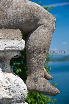 Foot stone