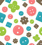 Seamless button pattern