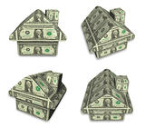 3d money house array