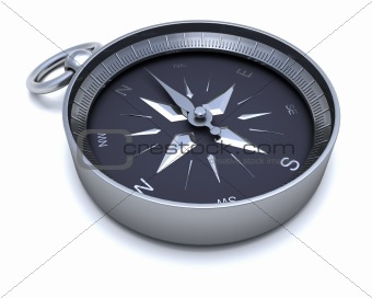 Chrome navigational compass