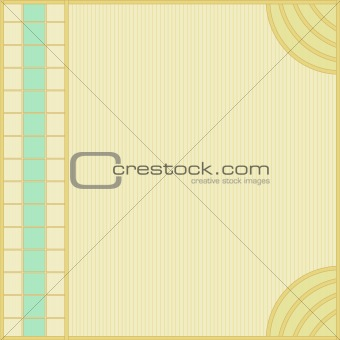 background with turquoise and green pattern